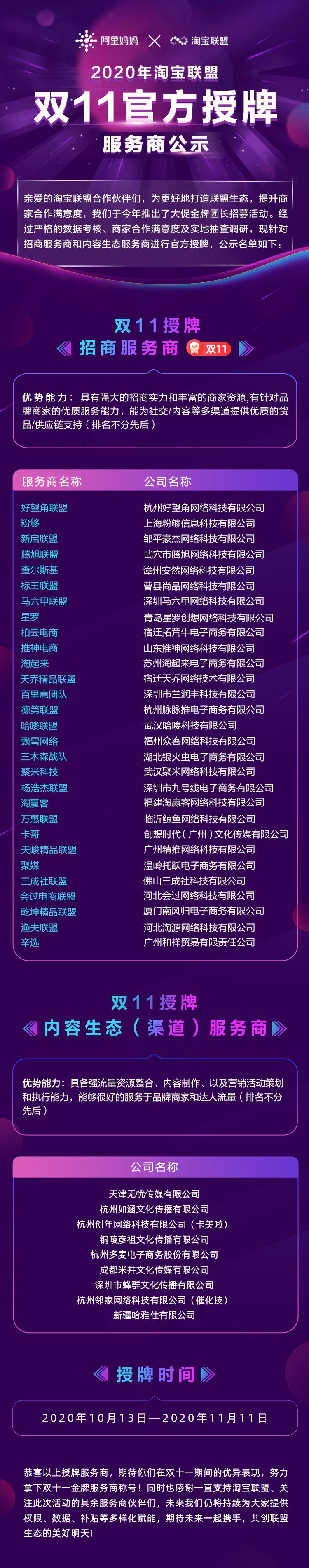 首届双11大促金牌团长开启招募!